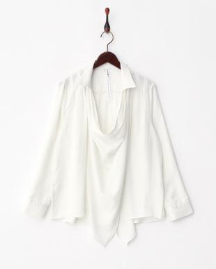 オフホワイト  3WAYシャツ見る