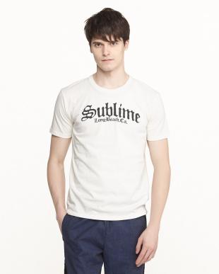 ホワイト  Sublime プリントTシャツ見る