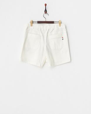 ホワイト 吸汗速乾/UVカット/接触冷感 ストレッチキュロットスカート見る