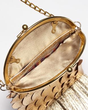 GOLD  山羊革FISH BAG・ショルダーバッグ/がま口/箔プリント見る