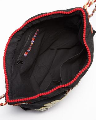 BLACK  2way bag・コットンキャンバス刺繍見る