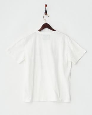 オフホワイト  カモプリント×パッチTシャツ見る