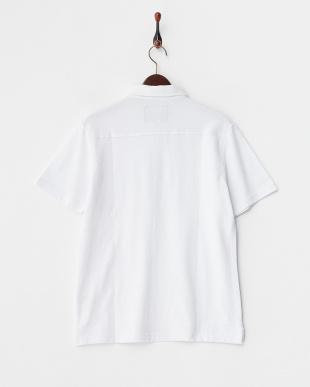 ホワイト  ボタンダウン ポロシャツ見る