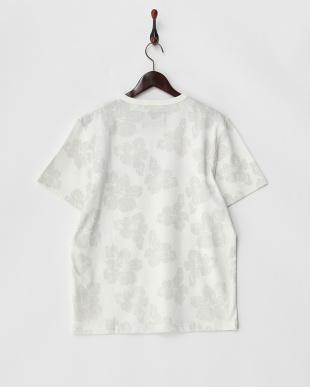 ホワイト系  NORTH CAROLINA ハイビスカスプリントTシャツ見る