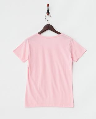 ピンク ラインシリーズ1 半袖Tシャツ見る