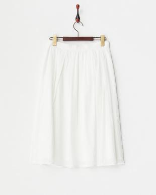 ホワイト Gigi Summer 綿ローンスカート見る