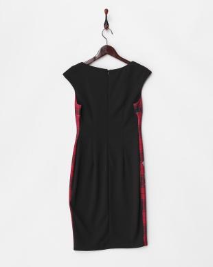ROSSO dress・フラワーチェックジャージーワンピース見る