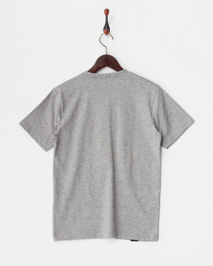 グレー  パラシュートVヘンリー 杢調Tシャツ見る
