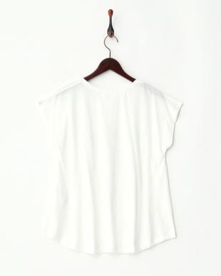 オフ  ロゴ箔プリントTシャツ見る