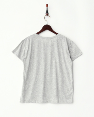 グレー  カスレフラッグTシャツ見る