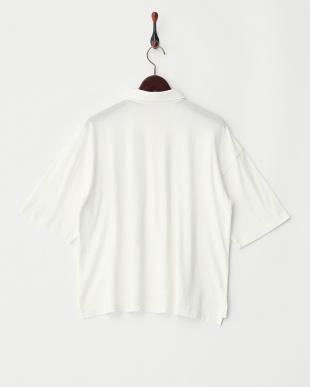 WHITE  ワイドポロシャツ見る