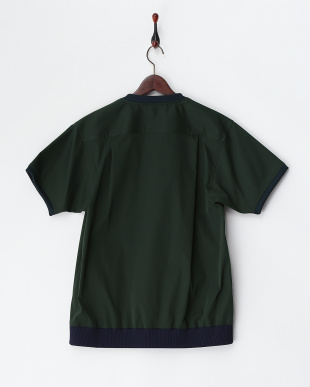 GREEN  半袖シャツ(プルオーバー)・肩ジップ見る