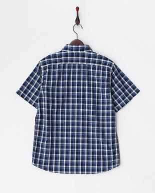 WHITE BLUE(111) チェックシャツ見る