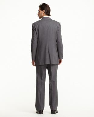 グレー  2ボタン 紳士スーツ見る