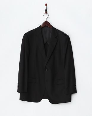 ブラック  2ボタン 紳士スーツ見る