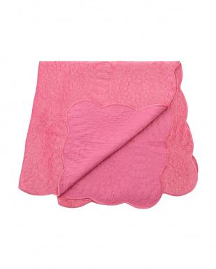 ピンク  DENAロージズ マルチカバー 200×200cm見る