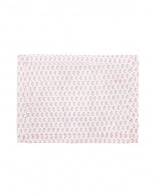 ピンク  DENAサンダラオアシス ピローケース 70×50cm見る