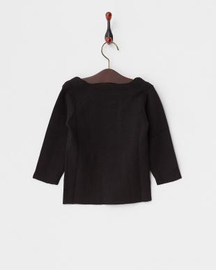 BLACK  ミラノリブクルーセーター見る