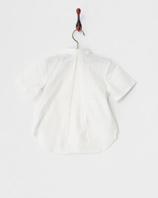 WHITE  Girlsパンチングシャツ(半袖)見る