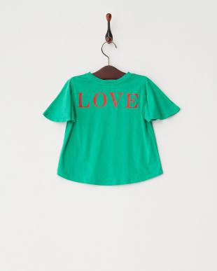 GREEN GirlsフレアスレーブTシャツ見る
