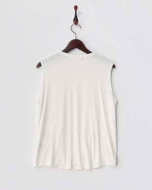 OFF WHITE  ドレープTシャツ(ノースリーブ)見る