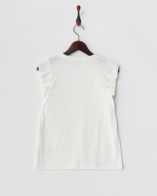 WHITE オリガミタックTシャツ見る