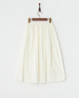 NAVY  プリーツギャザースカート見る