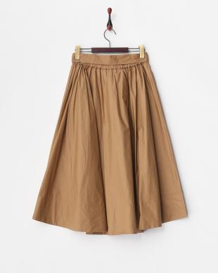 CAMEL  ミディボリュームスカート見る