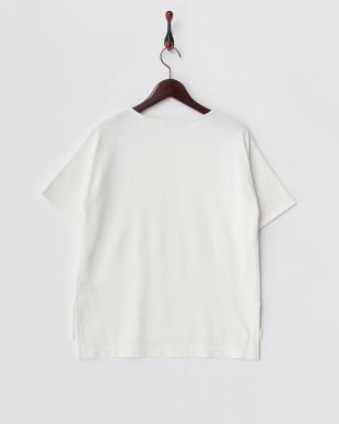 WHITE  ボックスミニマルセーター(5分袖)見る