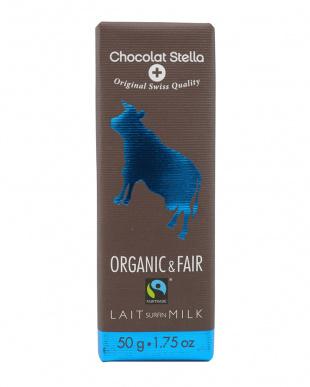 オーガニック ミルクチョコレート 3枚セット見る