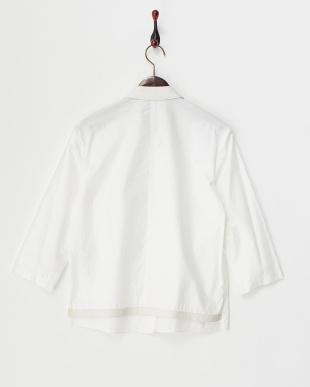 white BLADE SHRTG ボタンダウンシャツ見る