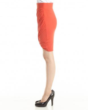 red NOVA ジャージーツイストスカート見る
