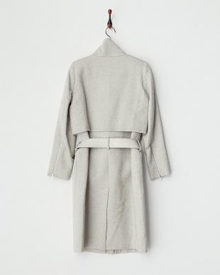 silver SLEET BELT コート見る