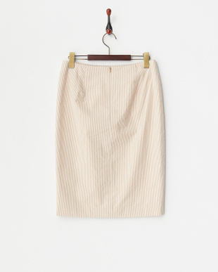 ORANGE O サッカーストライプ スカート見る
