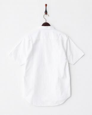 WHITE  T16.ポケットプリントシャツ見る