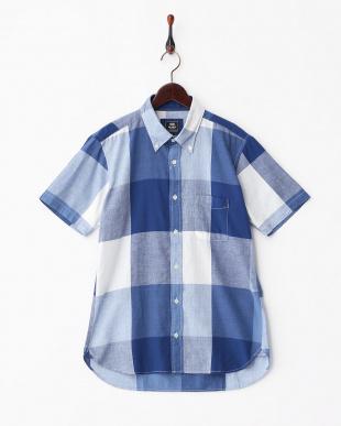 BLUE×NAVY  SK.ビッグチェックシャツ見る