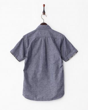 NAVY  SK.CAMO C/L ボタンダウンシャツ見る
