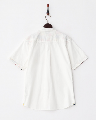 WHITE  EV.Tプリントポケットシャツ見る