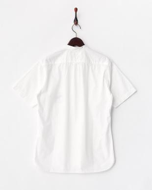 WHITE V.ブロードバンドカラーシャツ見る