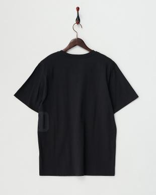 ブラック SHADED プリントTシャツ見る