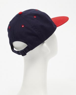 ネイビー×レッド  FRANK F CAP見る