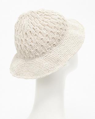 ホワイト  SKVニットTulip Hat見る
