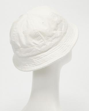 ホワイト B:Slub Metro Hat見る