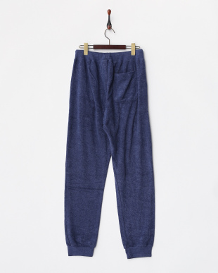 NAVY  LAZY TERRY PANTS見る