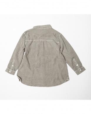 モカ ピグメント2WAYボーイズシャツ|KIDS見る
