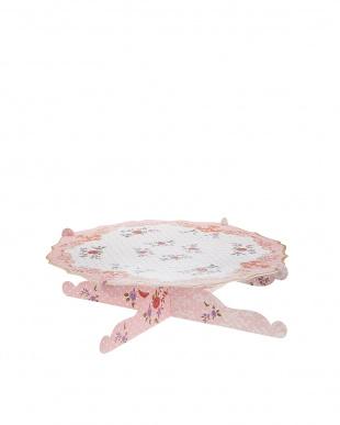 Pink  組み立て式 紙製ケーキスタンド見る