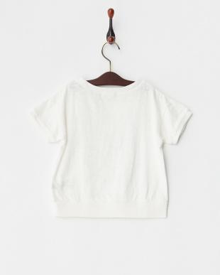 ホワイト  16/-ムラ天竺 HOPE LOVE LUCK 半袖 Tシャツ|GIRL見る