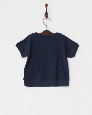 ネイビー  16/-ムラ天竺 HOPE LOVE LUCK 半袖 Tシャツ|GIRL見る