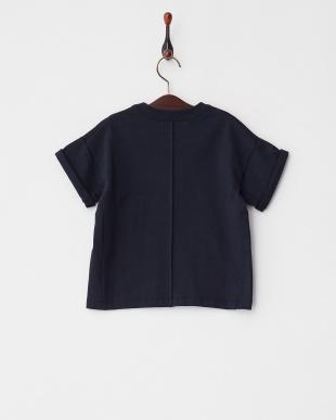 ネイビーブルー  BAKERY BROOKLYN NEWYORK プリントTシャツ│KIDS見る