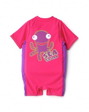 ピンク  シースクワッド フロートスーツ・ステップ2|KIDS見る